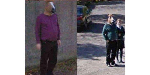 15 mysteriöse Funde auf Google Street View