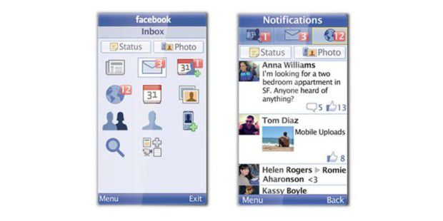 Facebook for Every Phone für Feature-Phones