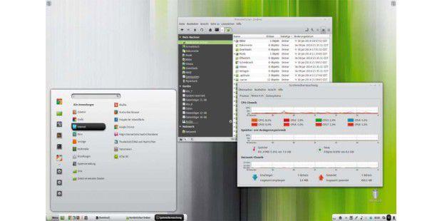 Desktop-Anwender bevorzugen Linux Mint mit mehr Optionen zur Personalisierung. Das Konzeptionelle Ubuntu zielt