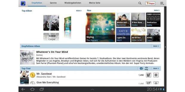 Music Hub: Samsungs Alternative zum iTunes-Store