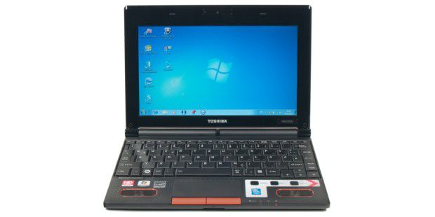 Netbook mit AMD-C50: Toshiba NB550D-10H