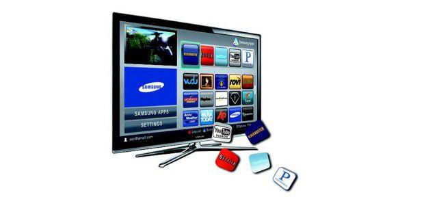 Samsung SmartTV: Verbindet Fernsehen mit Inhalten aus demInternet