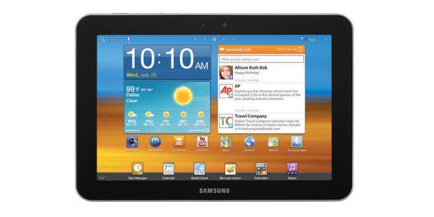 Samsung Galaxy Tab 8.9: Das Tablet wird es als WiFi- undLTE-Version geben.
