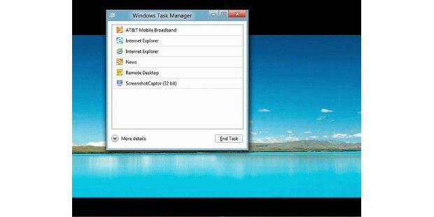 Windows 8 bekommt einen überarbeiteten Taskmanager spendiert