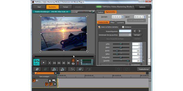TMPGEnc Video Mastering Works 5 beschleunigt das Umwandelnvon Videos mit CUDA