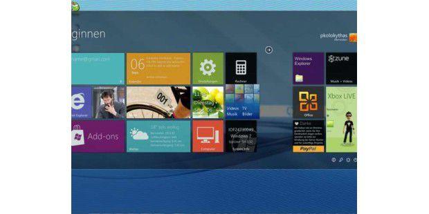 Windows 8 ohne Gefahren ausprobieren