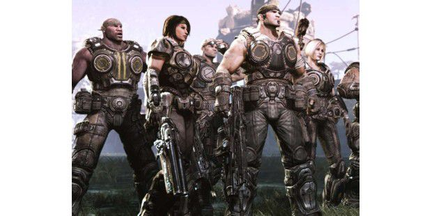Gears of War 3 läuft auf Epics Unreal Engine