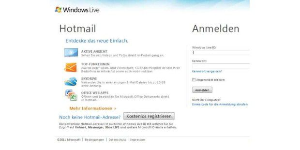Hotmail bekommt besseren Spam-Schutz