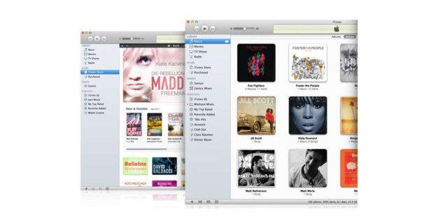 Apple spendiert iTunes 10.5 neue Funktionen und stopft Lücken