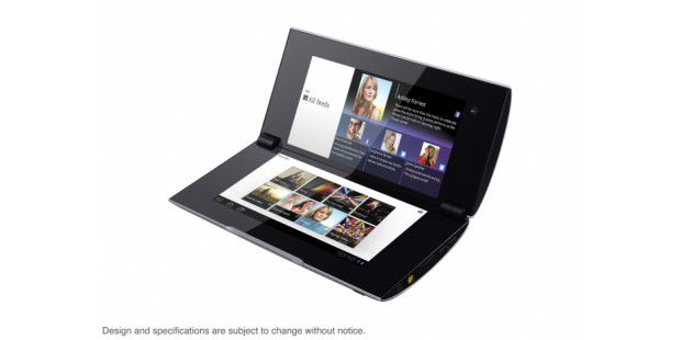 Dual-Screen-Tablet P von Sony