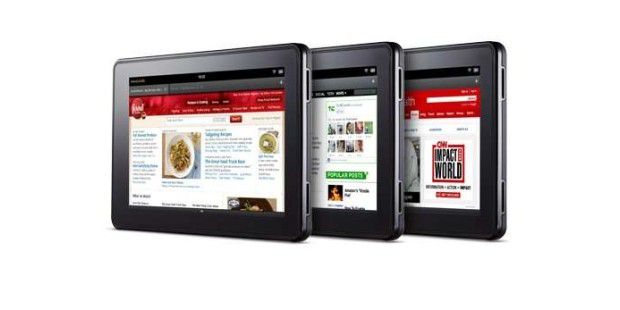 Silk auf dem Amazon-Tablet Kindle Fire