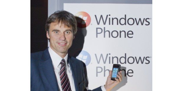 Windows Phone Corporate Vice President of Marketing Achim Berg (ehemals Chef von Microsoft Deutschland)