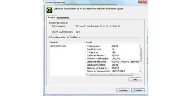 Veraltet: Der Nvidia-Grafiktreiber auf dem Medion AkoyaP6812 ist nicht auf dem aktuellen Stand.