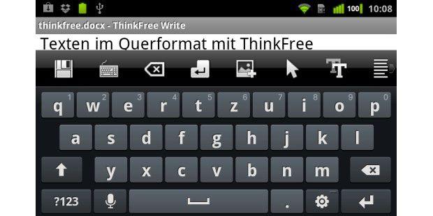 ThinkFree bietet unter www.thinkfree.com einen eigenenCloud-Dienst für den Zugriff von Smartphone und PC