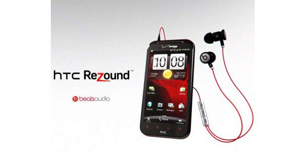 Neues Multimedia-Smartphone HTC Rezound