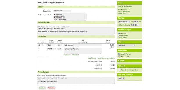 Mit Billomat.com erledigen Anwender in kleinen Firmen dieErstellung und Verwaltung von Rechnungen, Dokumenten und Artikelneinfach, schnell und gründlich.