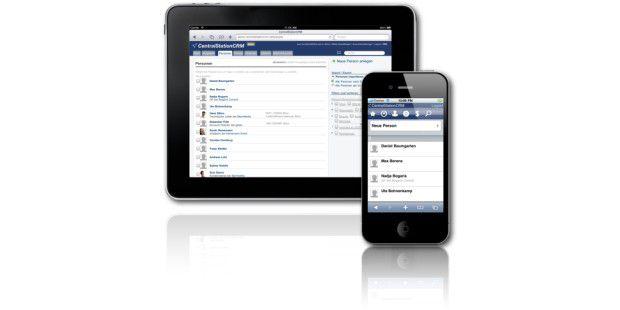 CentralStation CRM verwaltet nicht nur Kundendaten in derWolke, auch darüber hinausgehende Funktionen werdenmitgeliefert.