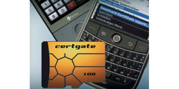Die SmartCard microSD soll Smartphones mit NFC ausrüsten.