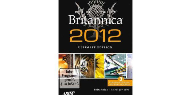 Encyclopedia Britannica 2012 Ultimate Edition ist im Handel