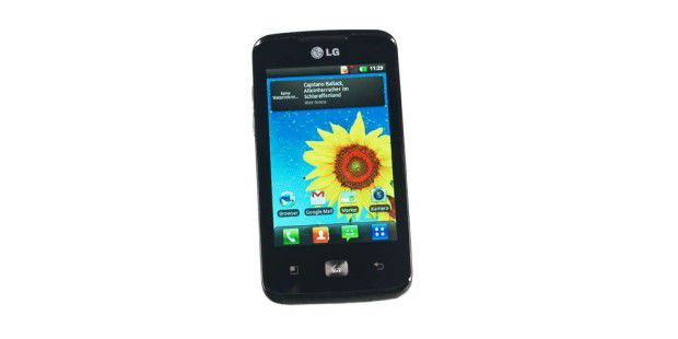 LG Optimus Hub im Test