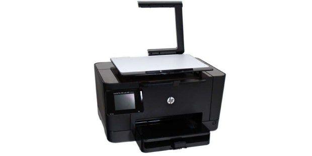 Kleine Objekte lassen sich mit dem HP Topshot Laserjet Pro M275 in 3D einscannen.