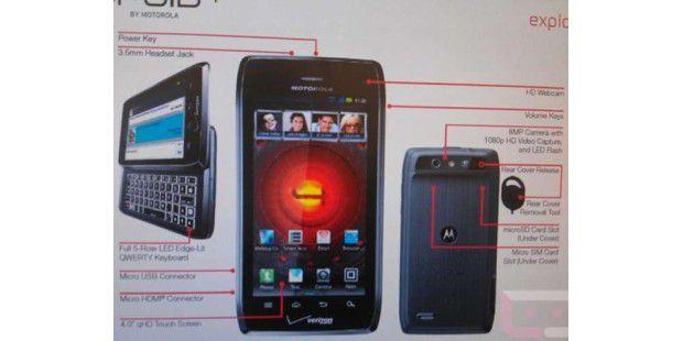 Weitere Infos zum Motorola Droid 4 (Quelle: www.Droid-life.com)