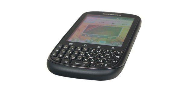 Motorola Pro+ mit vollwertiger QWERTZ-Tastatur und3,1-Zoll-Touchscreen