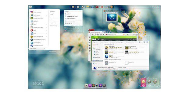 """Auf der Seite von Microsoft stehen unter dem Menüpunkt""""Designs für Windows 7"""" über 150 verschiedene Themesbereit."""