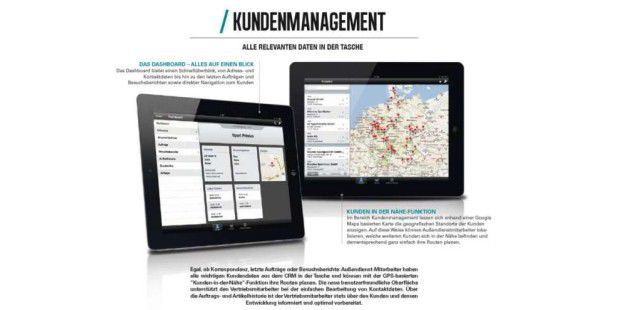 Siller SalesBook for iPad