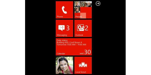 Web-Demo: Windows Phone 7