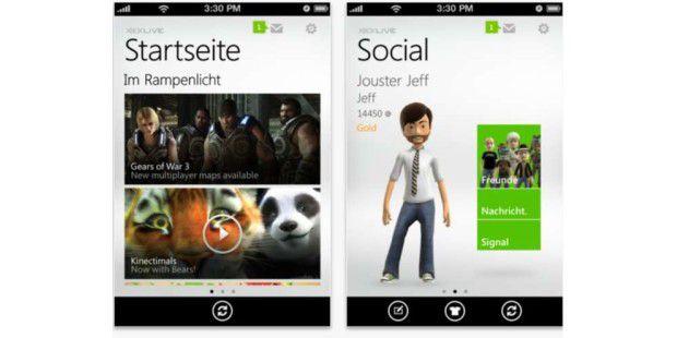 Microsoft veröffentlicht kostenlose Xbox LIVE-App für iOS-Geräte.