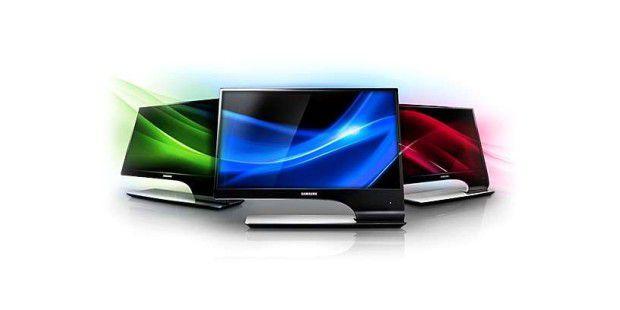 Viele moderne TFT-Monitore haben bereits einen TV-Empfänger integriert. Wir haben acht Modelle auf Herz und Nieren getestet. Bild: © Samsung SyncMaster T27A950 LED