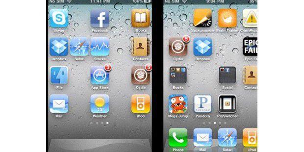 GridLock lässt Sie die Icons auf Ihrem Homescreen soanordnen, wie Sie es wollen.
