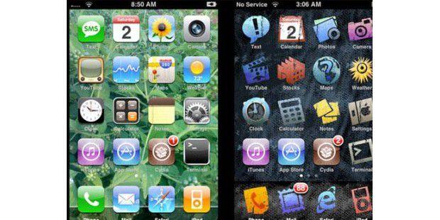 WinterBoard lässt Sie das Aussehen Ihres iPhones verändern– mit Icons, Schriftarten und Hintergrundbildern.