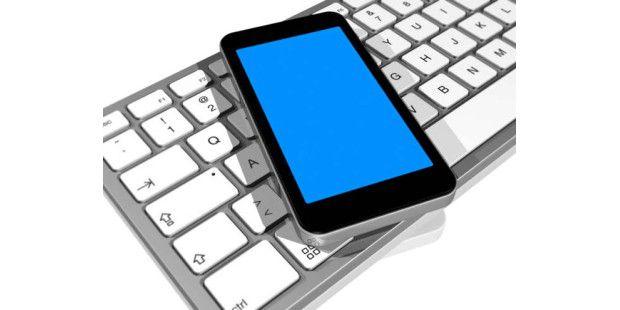 Bluetooth-Tastatur mit Smartphone verwenden