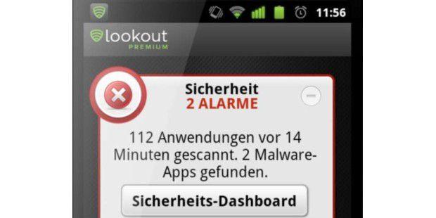 Antiviren-Tool Lookout für Android nun deutschsprachig