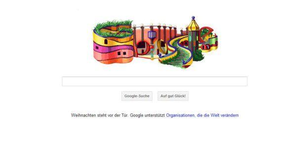 Google erinnert an Friedensreich Hundertwasser