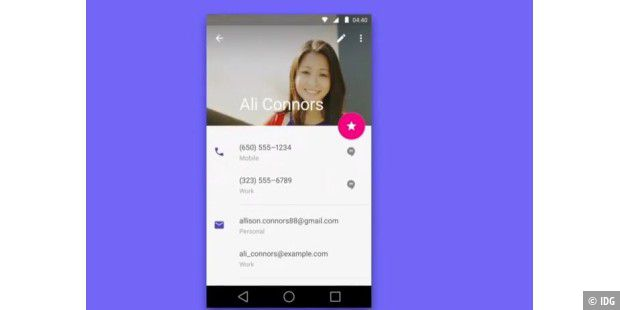 Material Design in Aktion