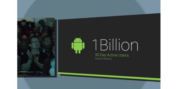 Android hat 1 Milliarde aktive Smartphone-Nutzer