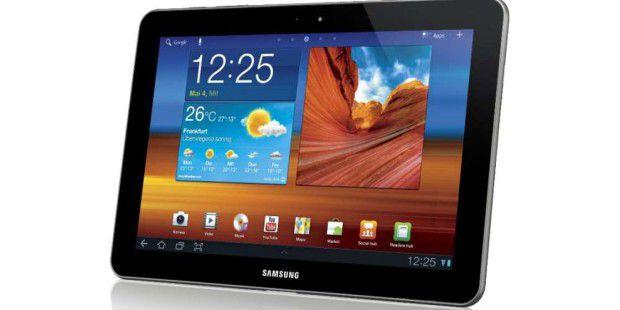 Beim Samsung Galaxy Tab 10.1 geht der Streit nicht um Patente, sondern um Geschmacksmuster.