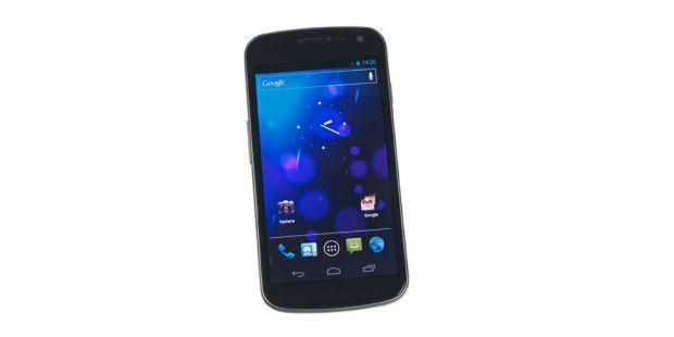 Erstes Android 4-Smartphone: Samsung Galaxy Nexus