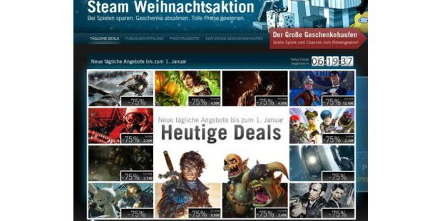 Steam Weihnachtsaktion