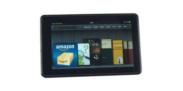 Der  Kindle Fire ist ein 7-Zoll-Tablet