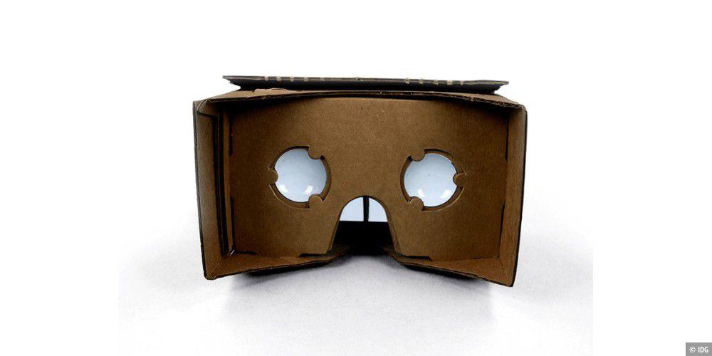 Google: VR-Brille zum Selberbasteln aus Pappe