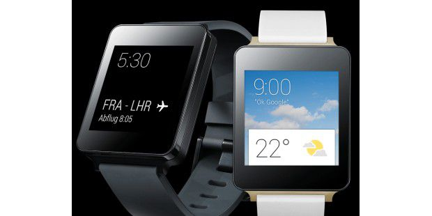 LG G Watch kommt mit Android Wear