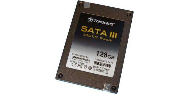 SSD-Festplatte im Test: Transcend SSD720 128GB