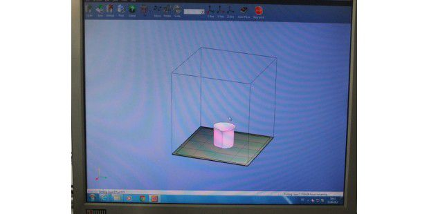 Software des Up! Personal Portable 3D Printer