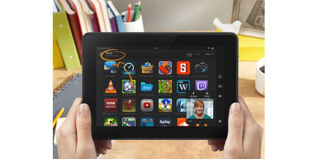 Kindle Fire HDX: Mayday-Funktion in Aktion