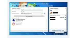 WLAN-Tool: Virtual Router Manager