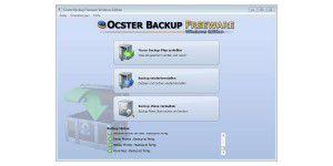 Ocster Backup